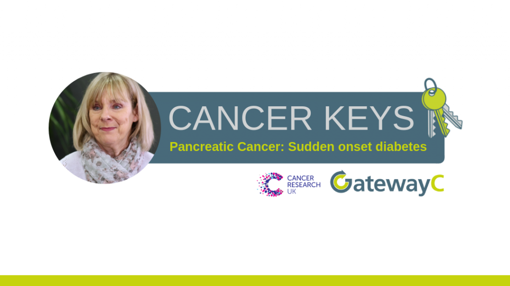 Cancer Keys pancreatic cancer sudden onset diabetes