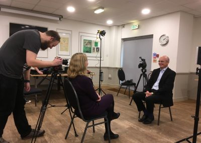 Interviewing Colorectal Surgeon Mr Malcolm Wilson