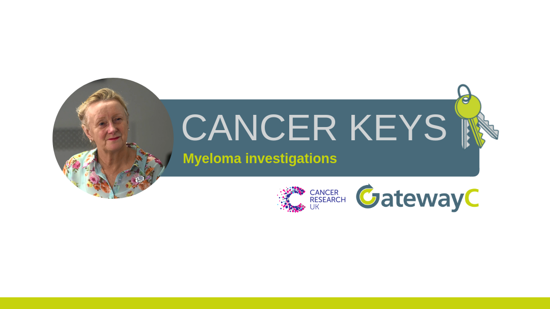 Cancer Keys: The two tests that will diagnose at least 90% of myeloma patients
