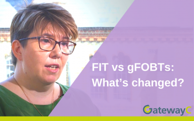 FIT vs gFOBTs: What's changed?