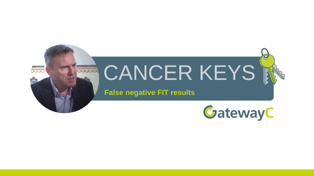 Cancer Keys: False negative FIT results