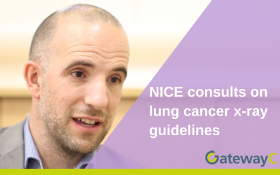 NICE consults on lung cancer x-ray guidelines