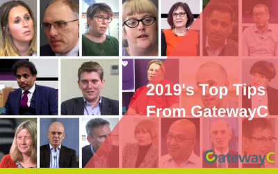 GatewayC's Top Tips from 2019