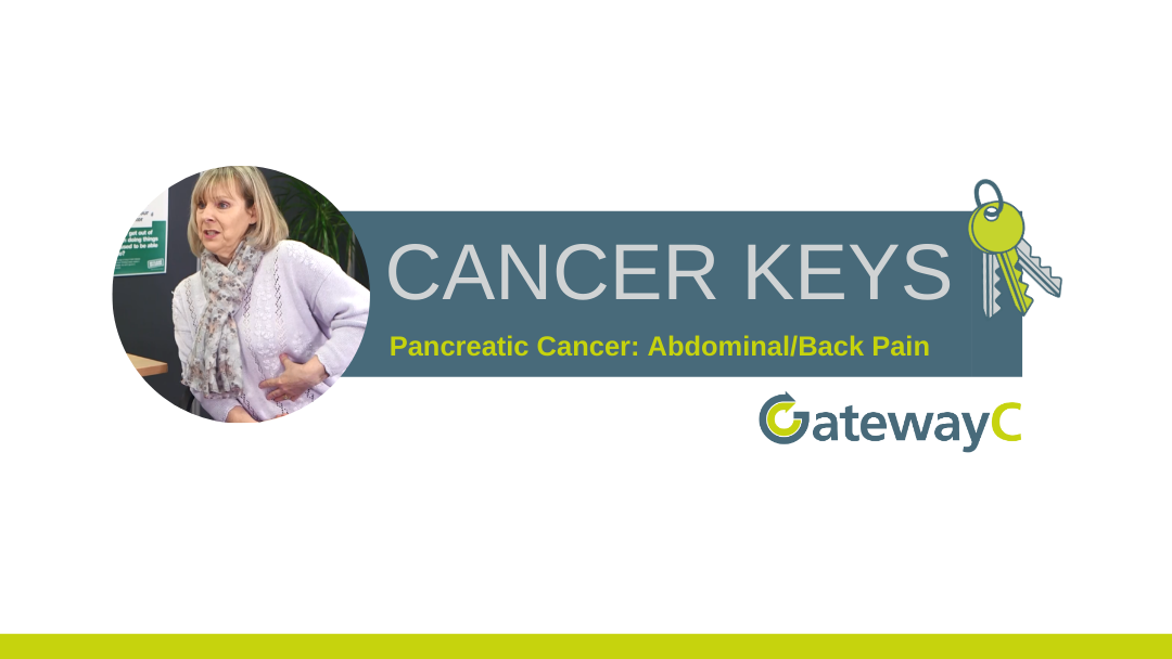Cancer Keys: RUQ Pain in Pancreatic Cancer