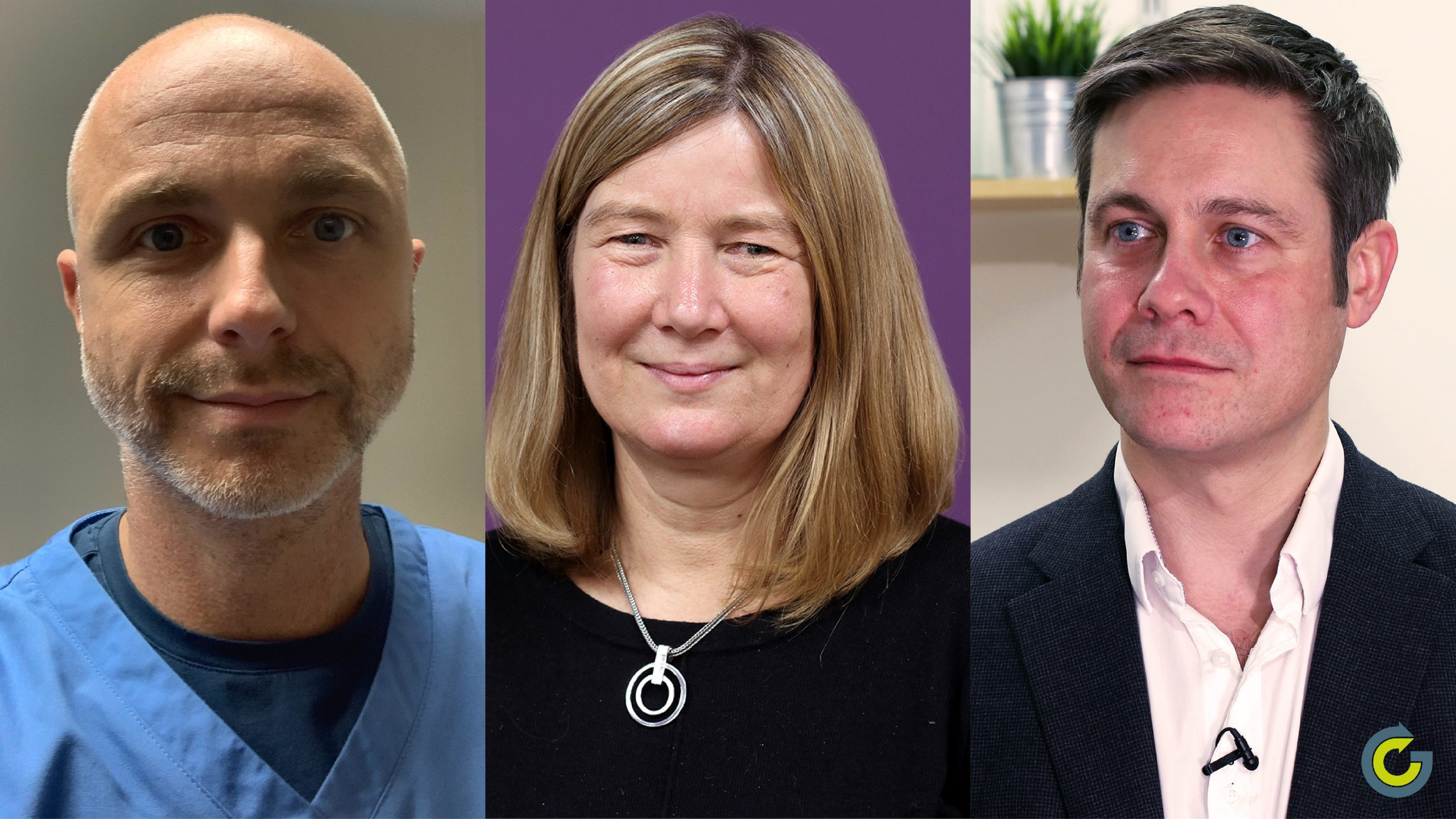 Dr Anthony Cunliffe, Joint National Lead Macmillan GP Adviser, Dr Sarah Taylor, GatewayC GP and Dr Ben Noble, East Midlands Cancer Alliance and Cancer Research UK GP Cancer Lead