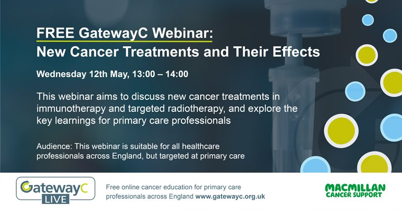 New Types of Cancer Treatments and Their Effects banner image